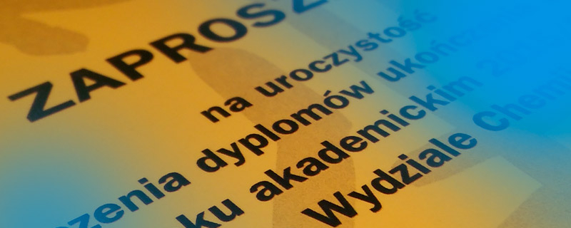 banner wręczenie dyplomów