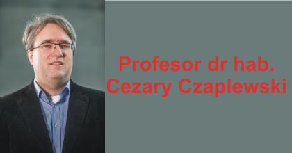 prof. Cezary Czaplewski