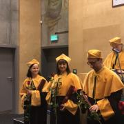 Inauguracja Roku Akademickiego 2019/2020 - promocja habilitacyjna Agnieszki