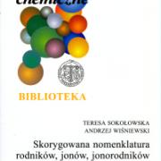 """okładka książki """"Skorygowana nomenklatura..."""""""