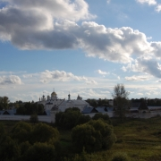 Widok na kreml w Suzdalu.