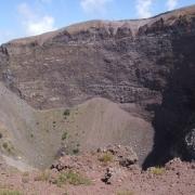 Krater Wezuwiusza.