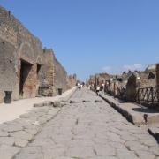 Ruiny Pompeji.