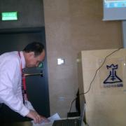 Wykład profesora Abdou Saad El-Tabl