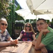 Prof. Ola, Gosia i Grzegorz